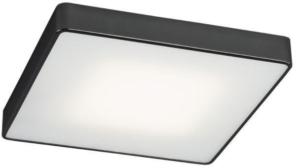 Plafon Ontario 654 Argon nowoczesna oprawa w kolorze czarnym