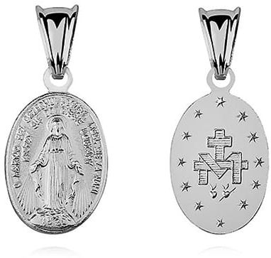 Cudowny medalik z Matką Boską Niepokalaną