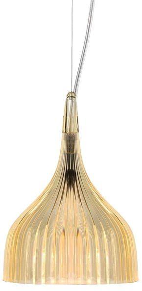E'' Ø13,5 żółty - Kartell - lampa wisząca