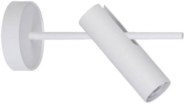 Kinkiet, lampa sufitowa, plafon LEDA 1 biały 33107