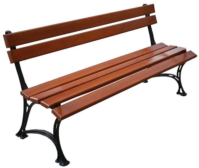Aluminiowa ławka ogrodowa Helen 5X 150cm - 7 kolorów