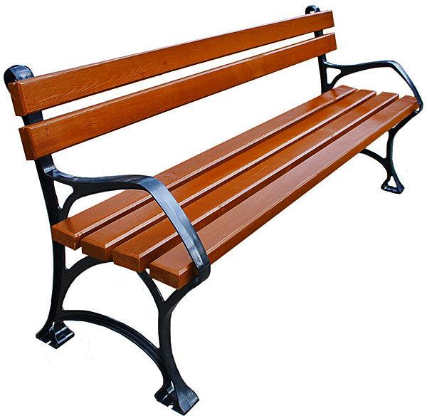 Aluminiowa ławka ogrodowa Sovella 180cm - 7 kolorów