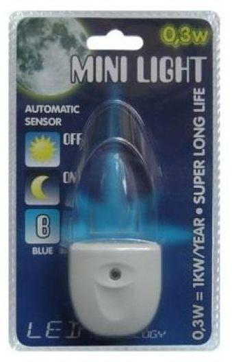 Lampka nocna MINI do kontaktu z czujnikiem LED LIGHT PREZENT