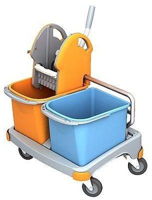 Wózek do sprzątania dwuwiaderkowy Splast TS-0025