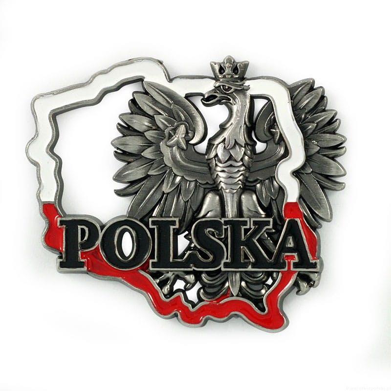 Magnes meatlowy konturek Polska orzeł