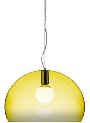 Small Fl/Y Ø38 żółty - Kartell - lampa wisząca