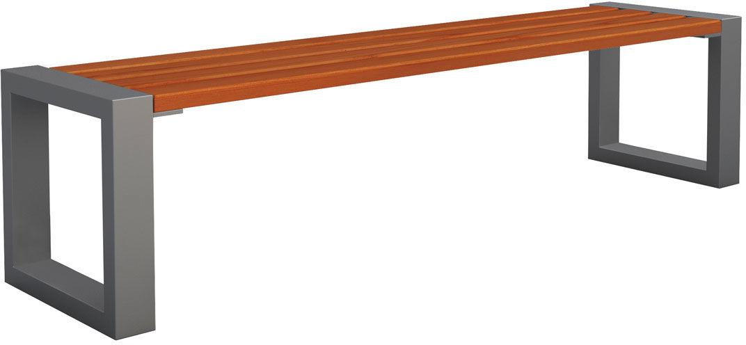Ławka bez oparcia Norin 3X Gray 150cm - 8 kolorów