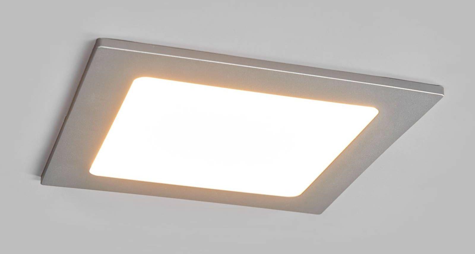 Spot LED Joki srebrny 3 000 K kątowy 16,5cm