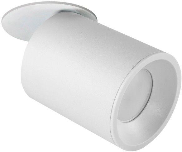 Oczko przegubowe podtynkowe PALLAS 1x10W GU10 białe 314086 POLUX/SANICO