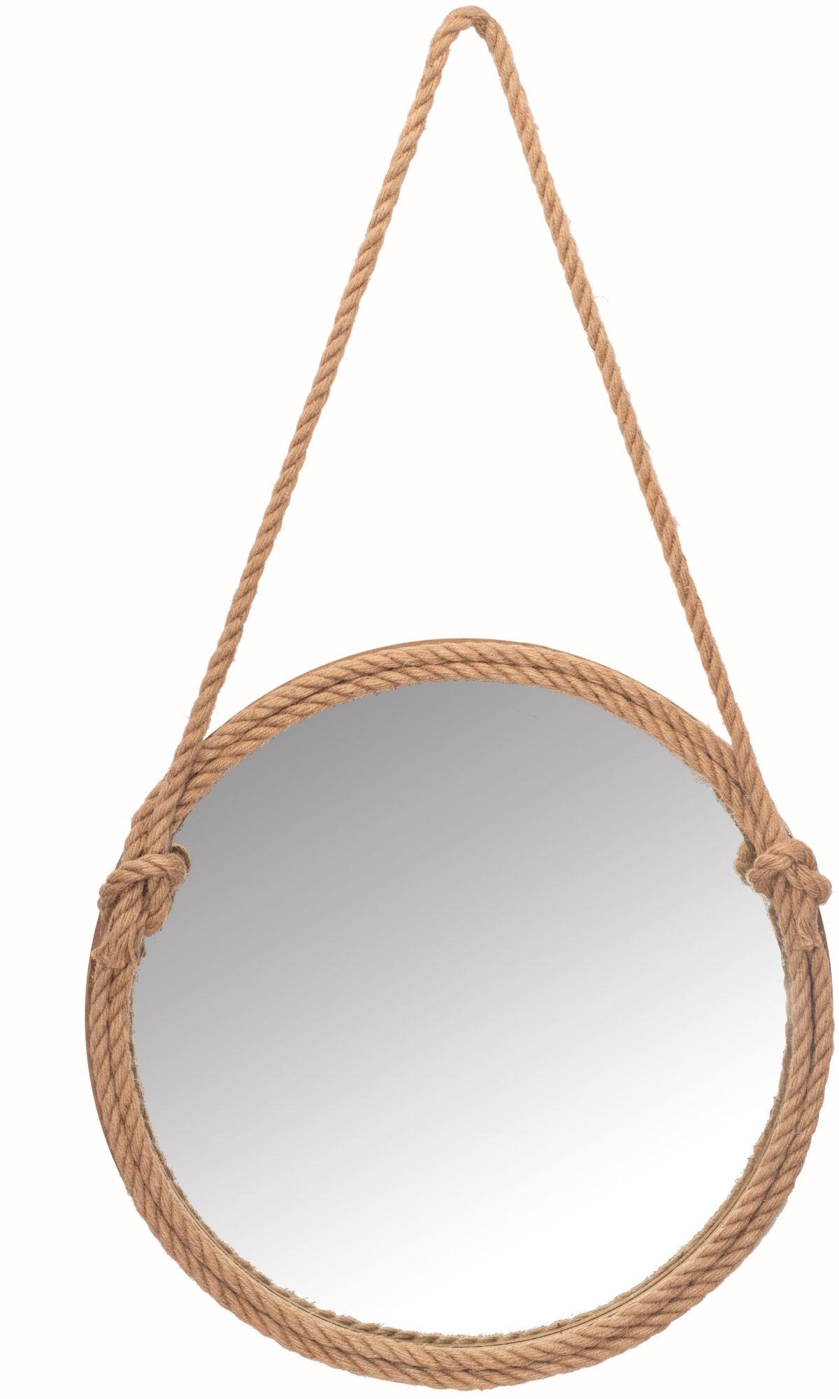 Tutumi Lustro okrągłe na sznurze 60 cm