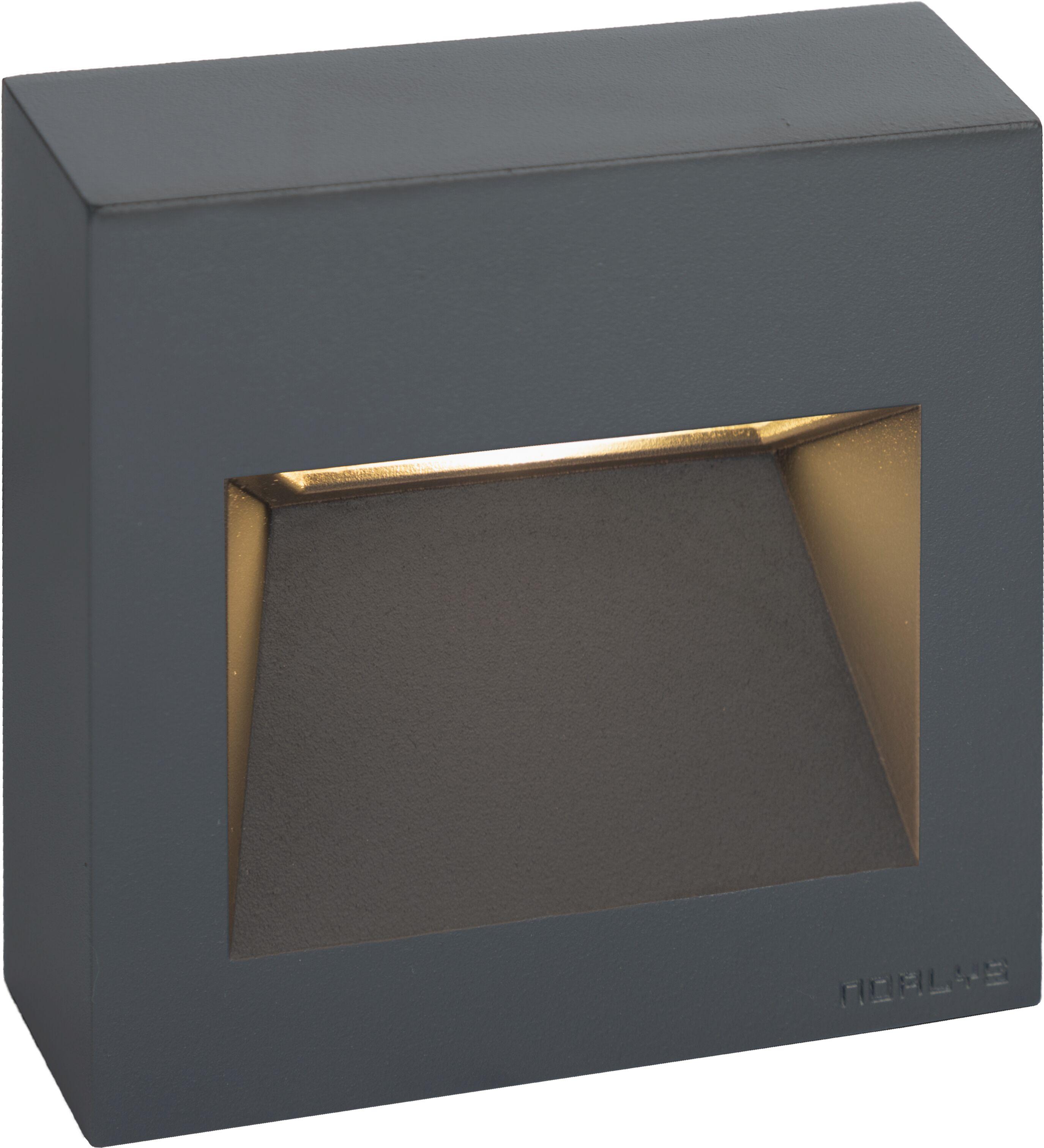 Oprawa schodowa NAMSOS MINI WALL 1341 GRAPHITE - Norlys  Sprawdź kupony i rabaty w koszyku  Zamów tel  533-810-034