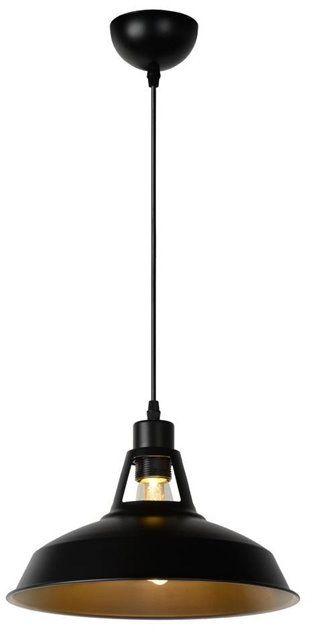 Brassy Bis Ø31 czarny - Lucide - lampa wisząca