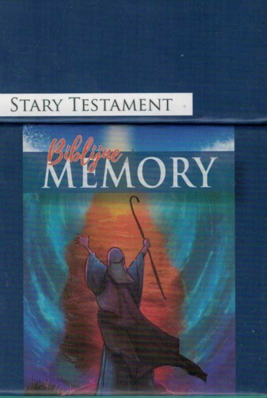 Biblijne memory - Stary Testament - pudełko z wersetami na kartach