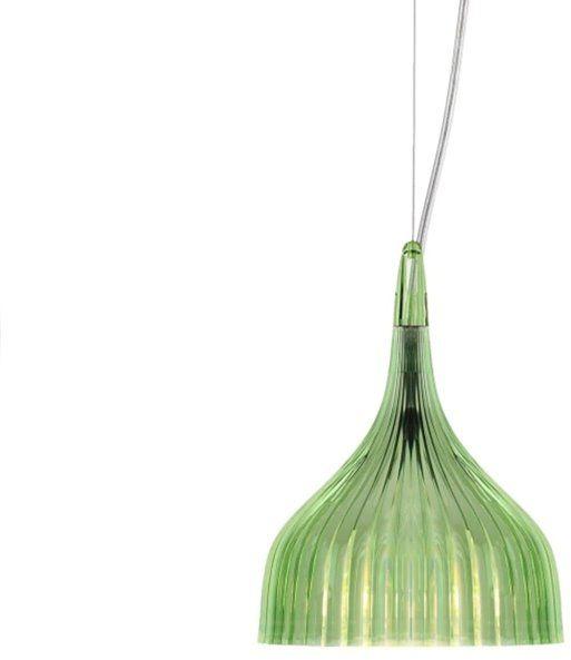 E'' Ø13,5 zielony - Kartell - lampa wisząca