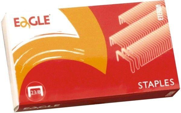 Zszywki EAGLE 23/8 1000 szt. - X08249