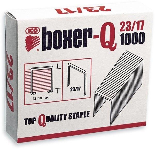 Zszywki ICO BOXER 23/17 1000 szt. - X08254
