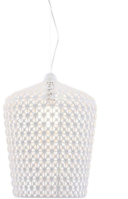 Kabuki H63 biały - Kartell - lampa wisząca