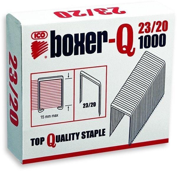 Zszywki ICO BOXER 23/20 1000 szt. - X08255