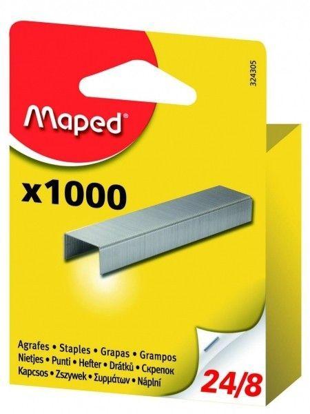 Zszywki MAPED 24/8 1000 szt. - X08272