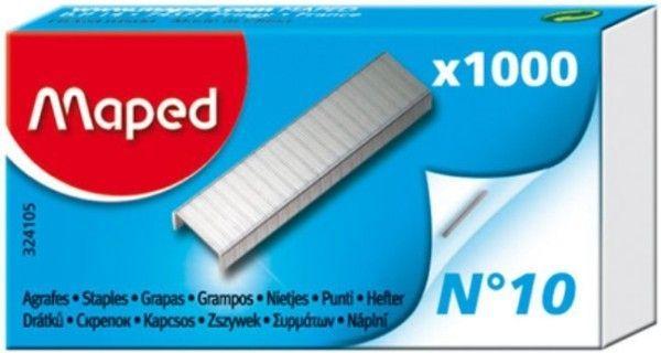 Zszywki MAPED NR 10 1000 szt. - X08274
