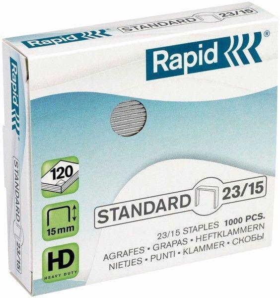 Zszywki RAPID STANDARD 23/15 1000 szt. - X08277