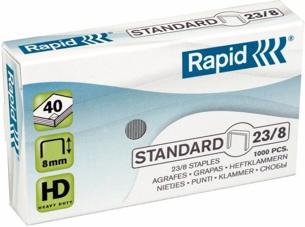 Zszywki RAPID STANDARD 23/8 1000 szt. - X08278