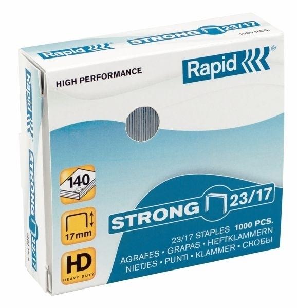 Zszywki RAPID STRONG 23/8 1000 szt. - X08287