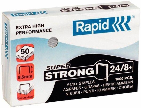 Zszywki RAPID SUPER STRONG 24/8+ 1000 szt. - X08290