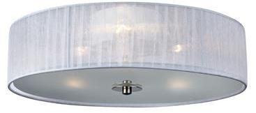 Plafon Byske 40cm 104883 Markslojd okrągła biała oprawa natynkowa