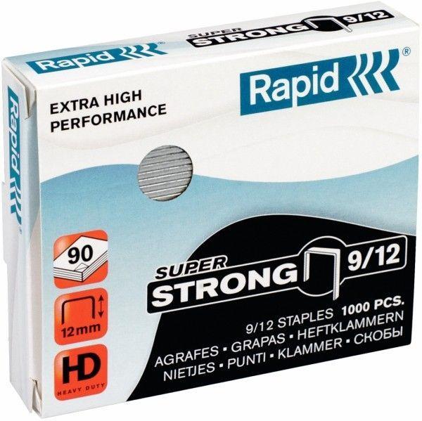 Zszywki RAPID SUPER STRONG 9/12 1000 szt. - X08294