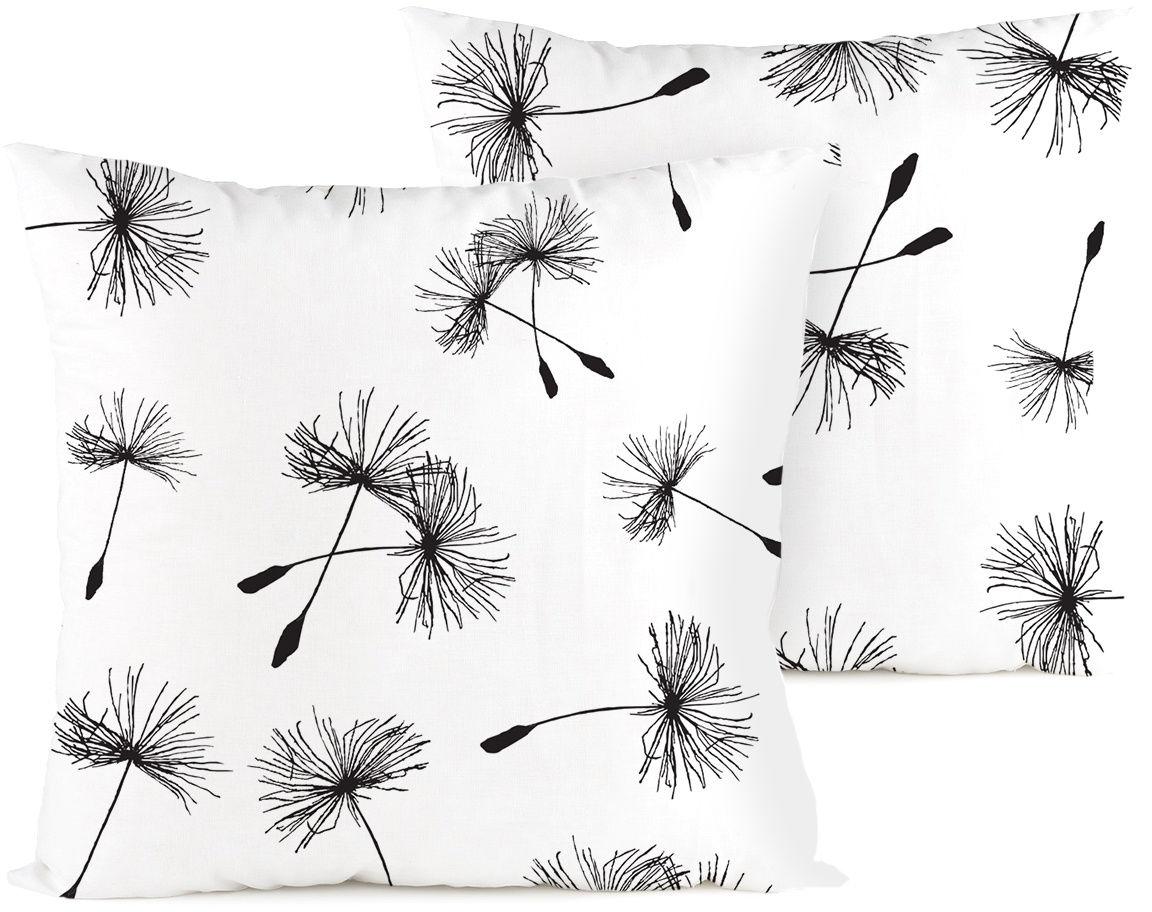 4home Poszewka na poduszkę Dandelion, 2 szt. 40 x 40 cm, 40 x 40 cm