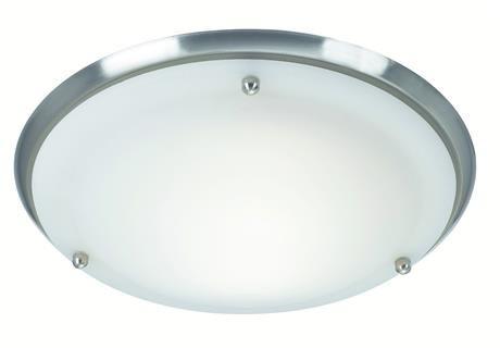 Plafon Are IP44 27.5cm 102527 Markslojd okrągła stalowa oprawa natynkowa do łazienki