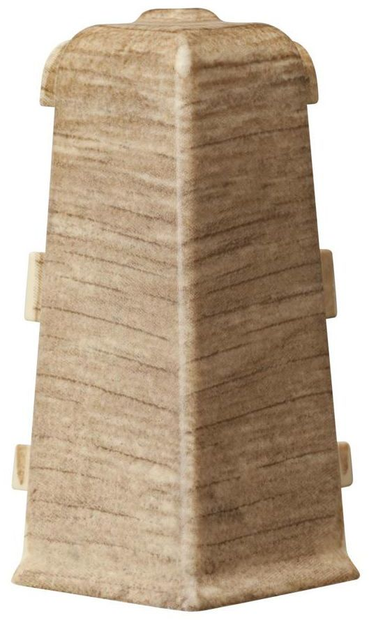 Narożnik zewnętrzny do listwy przypodłogowej Indo Dąb Bourbon Arbiton