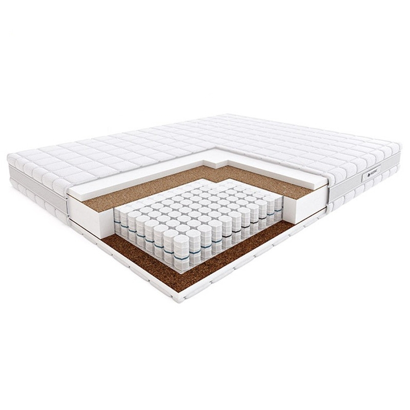 Materac PASODOBLE HILDING kieszeniowy : Rozmiar - 120x200, Pokrowce Hilding - Tencel
