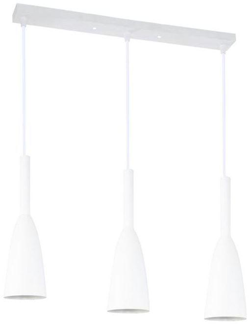 Lampa wisząca SOLIN biała E27 LIGHT PRESTIGE
