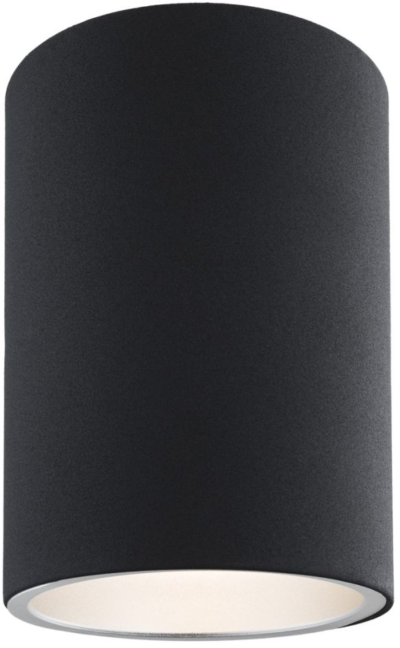 Plafon Tyber 1 474 Argon nowoczesna oprawa w kolorze czarnym