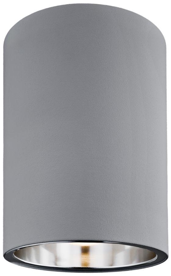 Plafon Tyber 1 3108 Argon nowoczesna oprawa w kolorze szarym