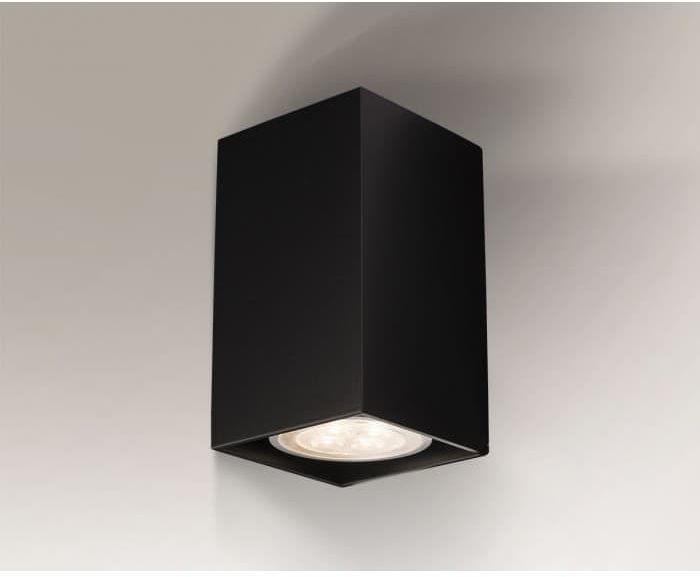 Lampa natynkowa Ozu czarna 4401 - Shilo // Rabaty w koszyku i darmowa dostawa od 299zł !