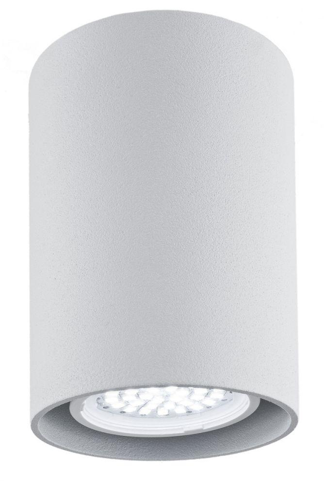 Plafon Tyber 2 3117 Argon nowoczesna oprawa w kolorze srebrnym