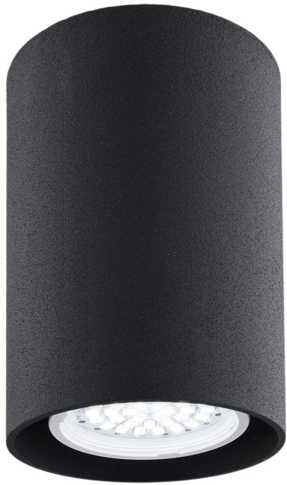 Plafon Tyber 2 3118 Argon nowoczesna oprawa w kolorze czarnym