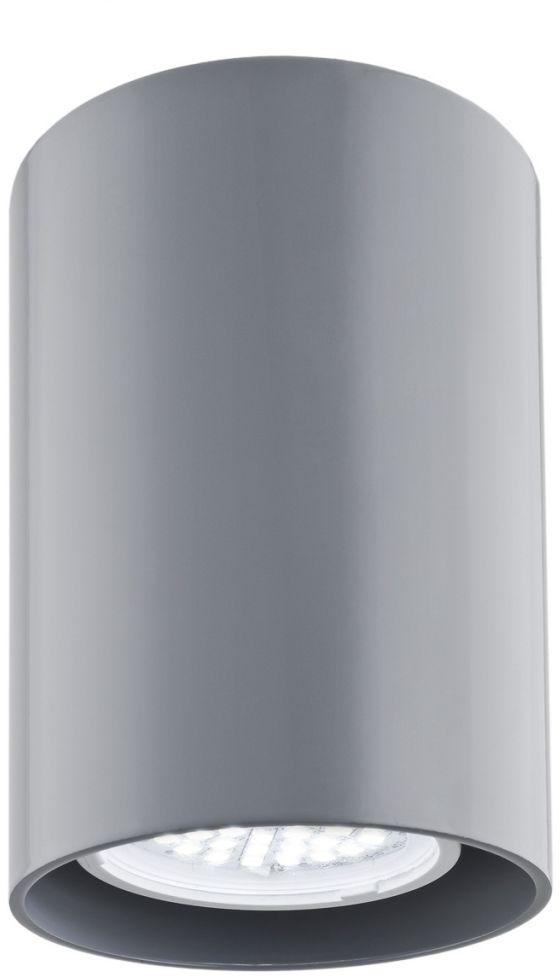 Plafon Tyber 2 3120 Argon nowoczesna oprawa w kolorze szarym