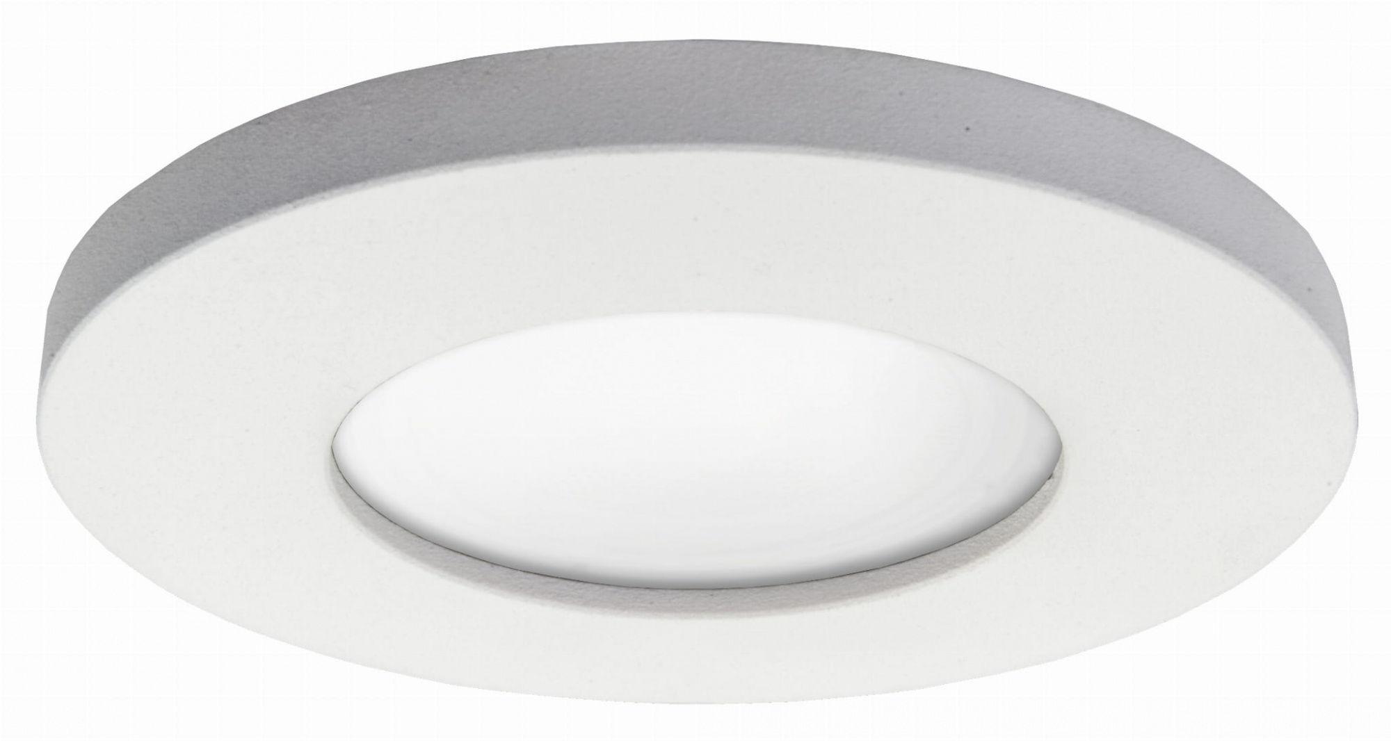 Oczko podtynkowe Lagos LP-440/1RS WH Light Prestige nieruchoma oprawa w kolorze białym