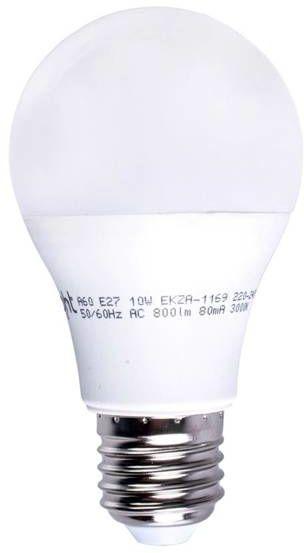 Żarówka LED 10W A60 E27 barwa ciepła 3000K EKZA1169