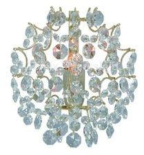 Kinkiet Rosendal 19cm 102334 Markslojd kryształowa złota oprawa na ścianę