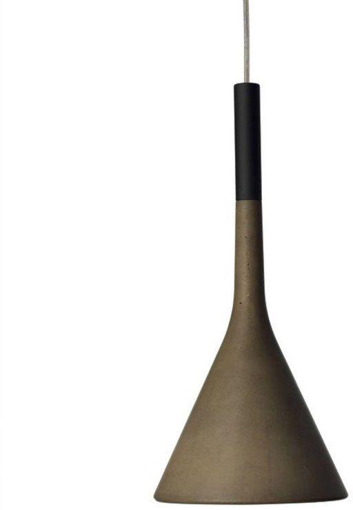 Aplomb Ø16,5 brązowy - Foscarini - lampa wisząca