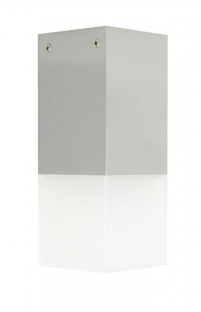 SU-MA Cube CB-S AL oprawa sufitowa srebrna E27 IP44