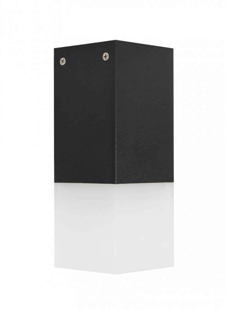 SU-MA Cube CB-S BL oprawa sufitowa czarna E27 IP44