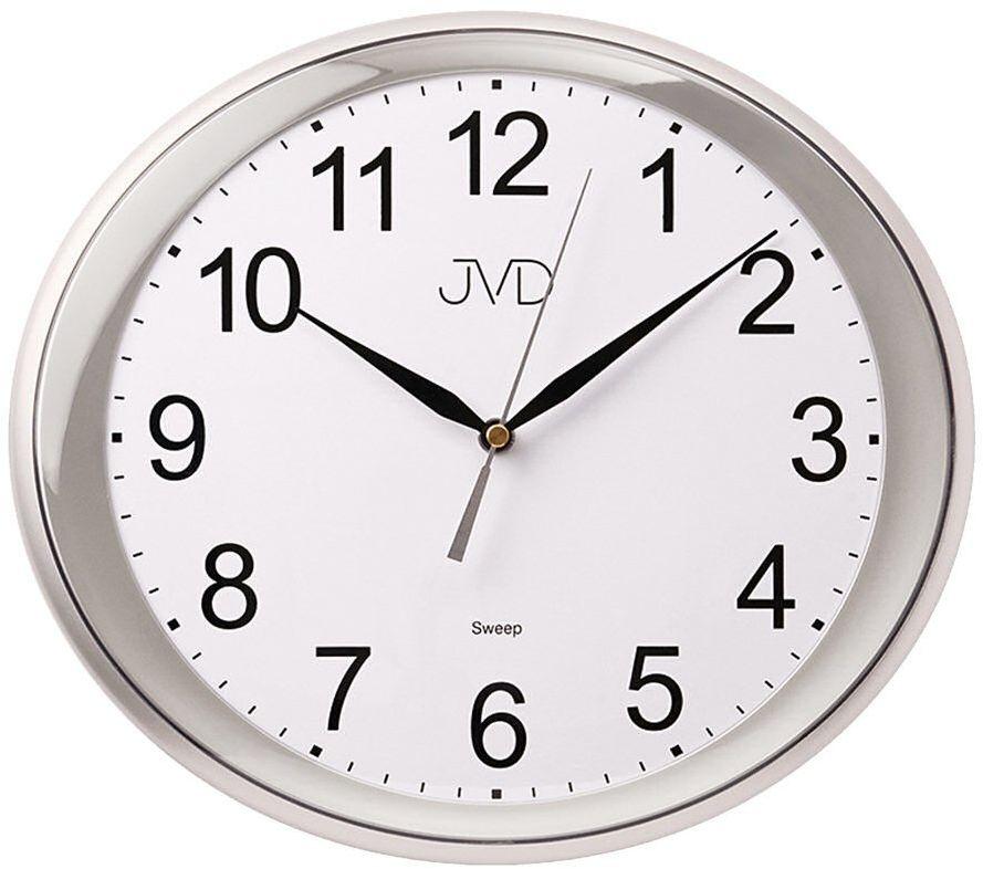 Zegar ścienny JVD HP664.6 Owalny Cichy mechanizm