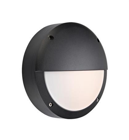 Kinkiet zewnętrzny Hero LED IP44 106519 Markslojd czarna zewnętrzna oprawa na ścianę
