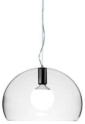 Small Fl/Y Ø38 przezroczysty - Kartell - lampa wisząca